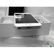 Iphone 5s Plata Desbloqueado 16gb Completo Apple Barato