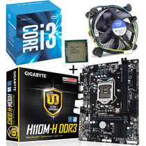 Kit Gigabyte Ga-110m-h + Intel Core I3 6100 3.70ghz 3mb 1151