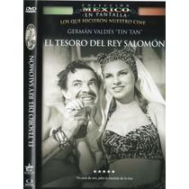 Dvd German Valdez Tin Tan El Tesoro Del Rey Salomon Tampico