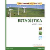 Libro: Estadística - Mario F. Triola - Pdf