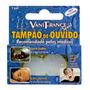 Protetor Auricular 100%silicone Tampão Ouvido 6 Cx Com 1 Par