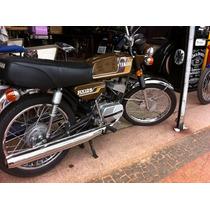Moto Yamaha - Rx 125 - 1980 - Linda