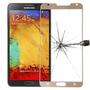 Vidrio Templado Protector Glass Color Samsung Galaxy Note 3