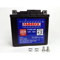 Bateria Titan 150 Es Partida Eletrica 04/15 Selada Fabreck
