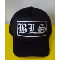 Boné Bls Black Label Society Trucker Cap Tela