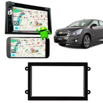 Dvd Player 2 Din 6.2pol Carro Cobalt Camera Gps Sensor Preto