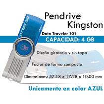 Pendrive Kingston 4 Gb Memoria Usb Legan Import