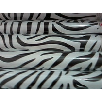 Papel Adesivo Contact - Tema: Zebra
