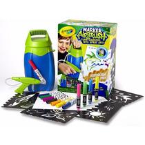 Aerógrafo De Spray Crayola, 12 Marcadores Y Más