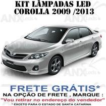 Kit Lampadas Led Toyota Corolla 2009 / 2013 - Super Promoção