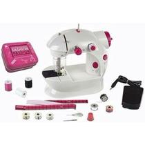 Máquina De Costura Infantil C/ Acessórios Costura De Verdade