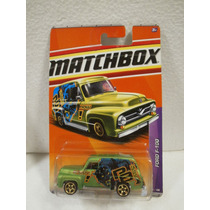Matchbox Camioneta Ford F-100 Verde 69/100 Panel