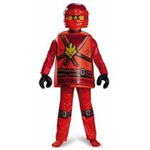 Disfraz Disguise Kai Deluxe Ninjago Lego Costume
