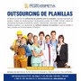 Administracion Outsourcing Planillas,laboral ,plame,mintra