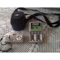 Máquina De Fotos Olympus Digital C/estuche Y Cargador
