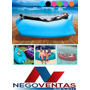 Puff De Aire Inflable, Cama Para Playa, Parques, Eventos<br><strong class='ch-price reputation-tooltip-price'>U$S 24<sup>99</sup></strong>