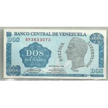 Venezuela 2 Bolivares P69 1989