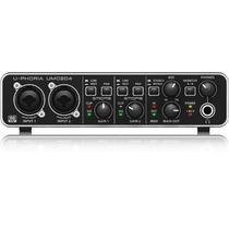 Interface Audio Behringer Umc204hd Uphoria Midi Usb Alto