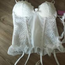 Lindo Conjunto De Espartilho Super Sexy Branco / Noivas