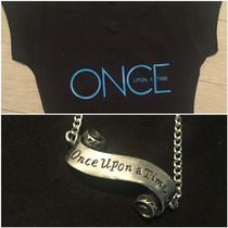Pkt Playera Y Collar Once Upon A Time
