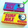 2 Parafinas Surf Soul Fins Quente E Fria + Chaveiro