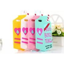 Funda Caja De Leche Flexible 100% Boys Tears Iphone 6 Plus