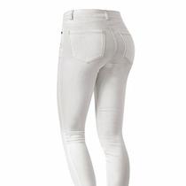 Pantalón Jeans Blancos Skinny Cadera 3-15 Tallas Extras
