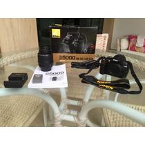 Nikon D5000 Nova - Câmera Fotográfica E Filmadora Hd C/lente