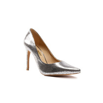 Trender Zapato Tipo Stiletto Color Plata