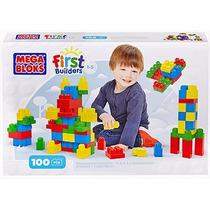 Mega Bloks First Builders, Caja 100 Pzas Construir Niño Niña
