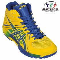 Tenis Asics Gel Task Mt Voleibol - Original + Nf De: 399,90