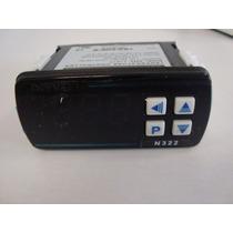 Termostato Electrònico Novus N322 Ent. Jkt, 2 Relays Salida