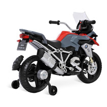 Moto Eletrica Infantil Menino Mini Moto Bmw Gs Bandeirante