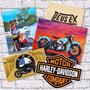 Placas Decorativas Motos, Chopper, Custom, Motogp E Pilotos!