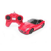 Carrinho Controle Remoto Ferrari 599 Gto 7 Funções 1/24