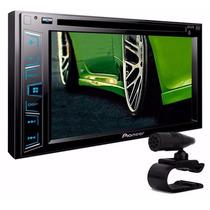 Dvd Player 2din Pioneer Avh-288bt - Bluetooth 288bt Moldura