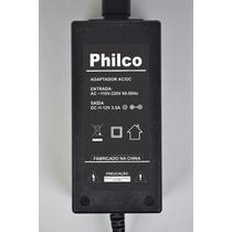 Fonte Para Tv E Monitor Philco 12v 3,5a Tv Ph24m Led A2