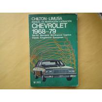 Chilton-limusa, Manual De Reparación Y Afinación Chevrolet 1
