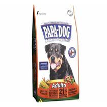 Ração Papa Dog Cães Adulto Carne E Vegetais 25kg