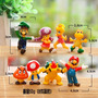Mario Bross Set De 8 Figuritas