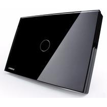 Interruptor Touch Livolo 1 Via S/ Dimmer S/ Remote Preto