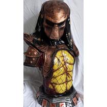 Busto Predador 2 Estatua Em Resina 1/2 Predator 2