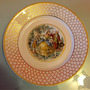 Prato Decorativo Anos 50, Porcellana Mauá, Brasil