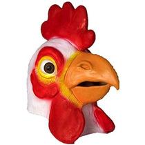 Máscara Nueva Adulto Pollo Gallo Head Farm Animal