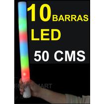 10 Barras Led Aplaudidor Fiestas Eventos Animación Con Luz