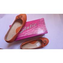 Toreritas Zapatos Damas. Tacon Bajo