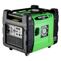Generador De Energía Portátil 3500w 7hrs 13lts Con Llantas