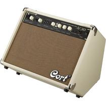 Amplificador Cort Af30 Guitarra Acustica 30 Watts *yulmar*