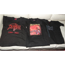 Poleras Rockeras Maldito, Cold Blood Y Dark Side Nuevas