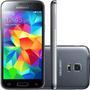 Samsung Galaxy S5 Mini Duos G800 16gb Cam 8mp Gps Preto